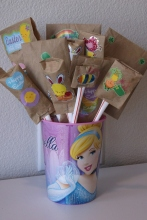 The completed Lucky Bouquet!